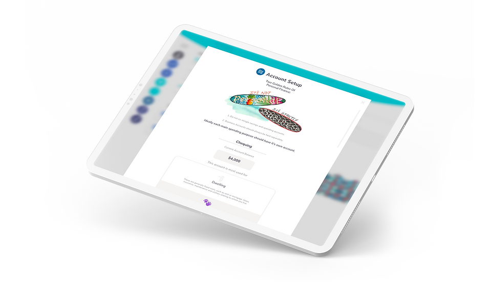 Afirefi - Budgeting App for iPad and iPhone