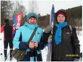 Лыжная гонка на приз Володина К.А.