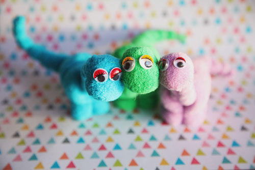 Dinosaurs (not scary!)