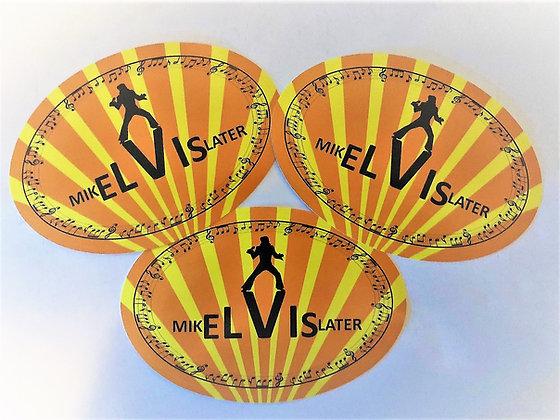 MikELVISlater bumper sticker