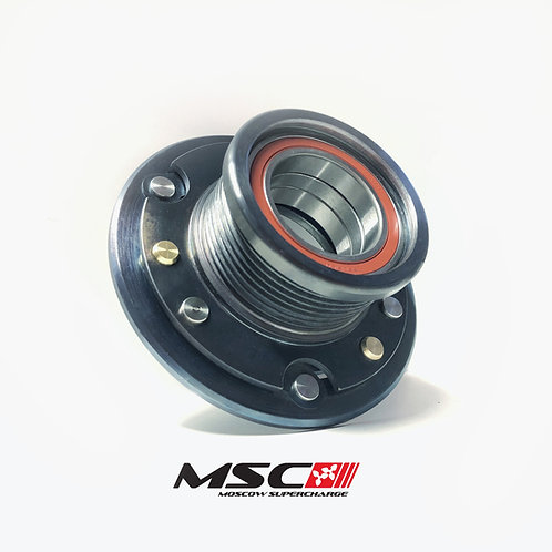 M113K Clutched STEEL Supercharger pulley 76mm (E55, CLS55, SL55, CL55, G55, S55)