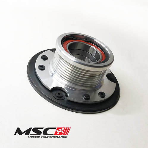 M113K Clutched Tuned Supercharger pulley 76mm (E55, CLS55, SL55, CL55, G55, S55)