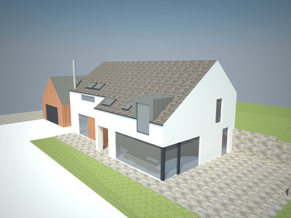 Planning Approval and Warrant Submitted for New House