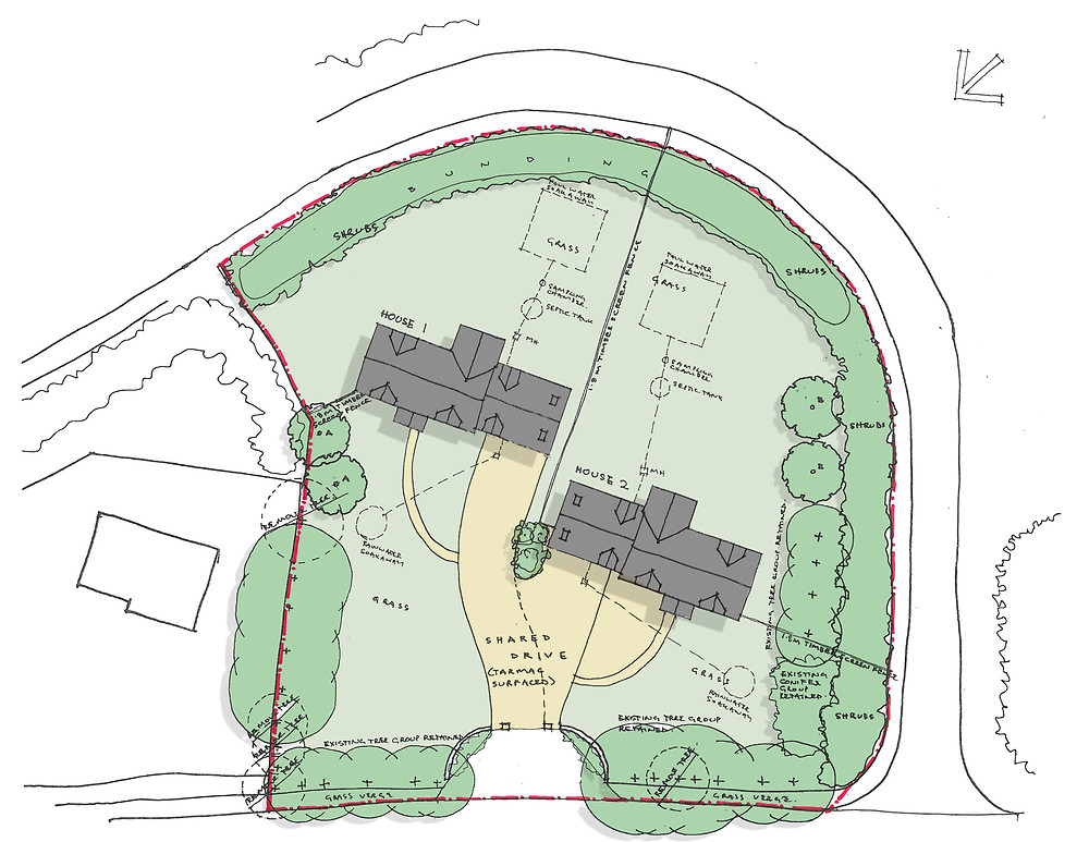 Site Plan of potential site