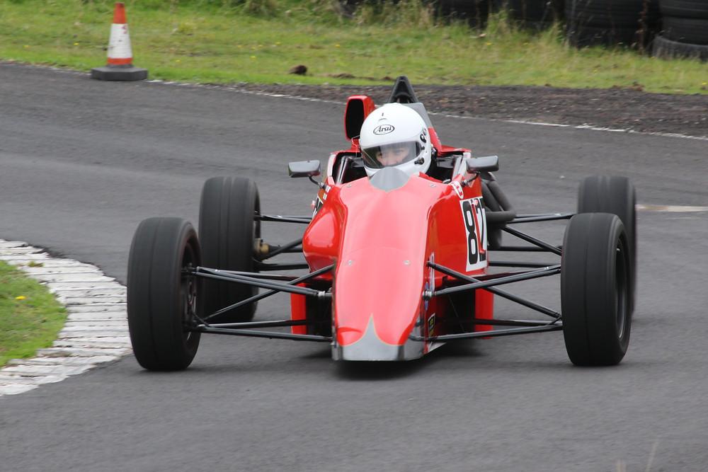 Nicola Dearden in Van Diemen RF91 1600cc