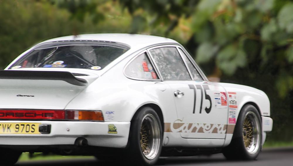 Laura Wardle Porsche 911 Carrera in the Modified Series Production Cars Over 2000cc