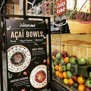 Organic Açaí Bowls are just naturally at