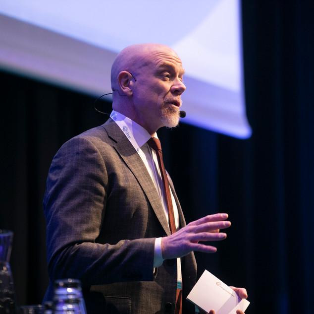 Robert Andrén, generaldirektör Energimyndigheten invigningstalar