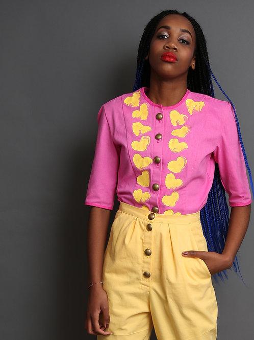 Margret Women's Blouse Pink