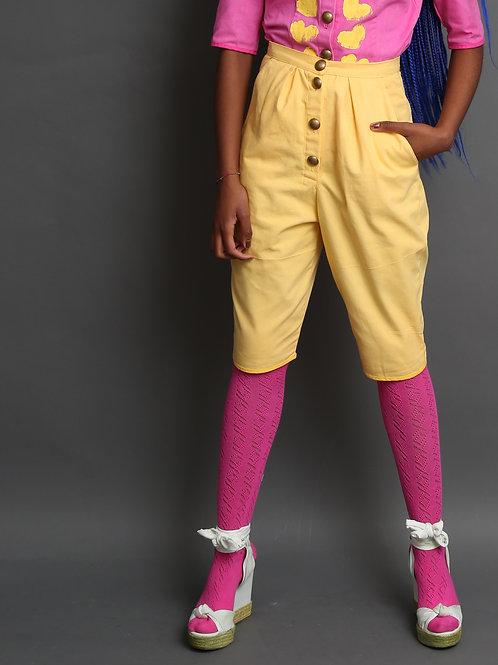 Margret Women's Trousers Yellow