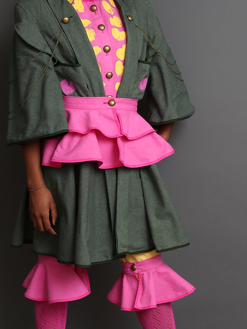 Margret Women's Waist Belt Pink