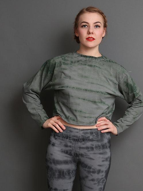 Women's Longsleeve Grün