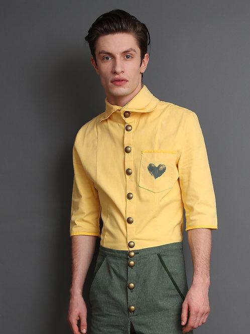 Margret Men's Shirt Yellow