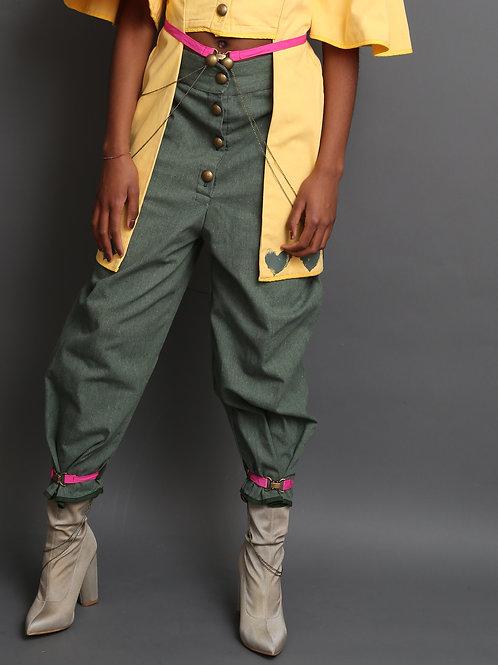 Margret Women's Trousers Green