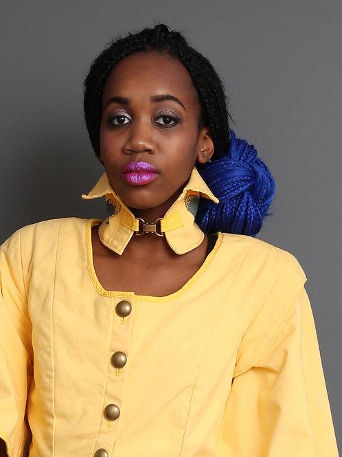 Margret Women's Collar Yellow