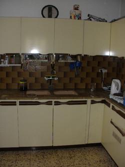 המטבח - לפני