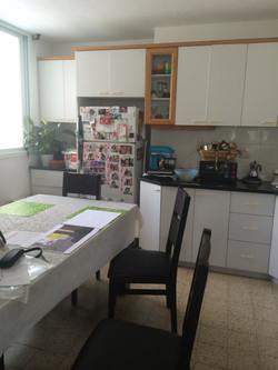 המטבח לפני השינוי