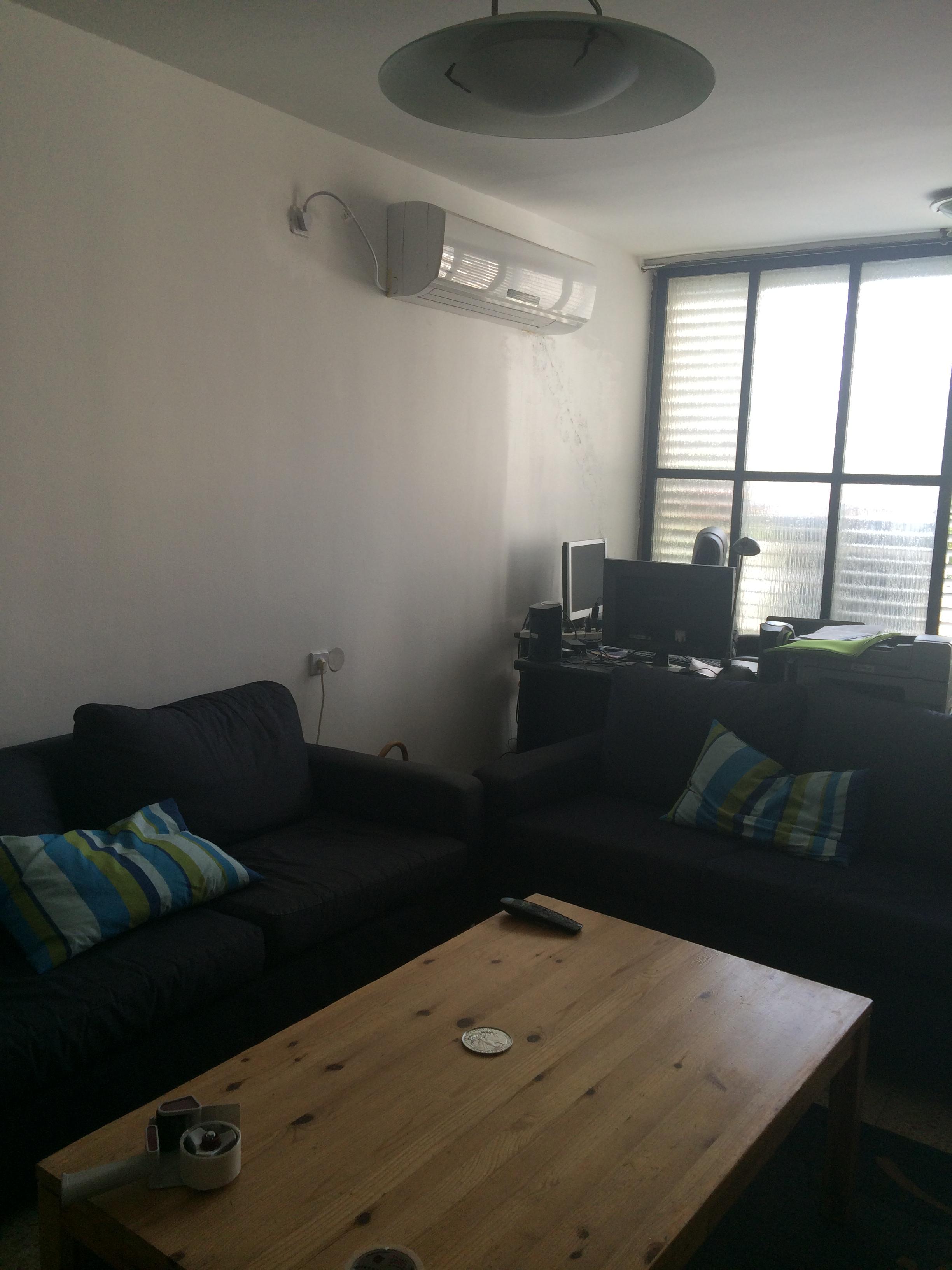 הסלון לפני השינוי