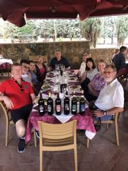 Wine-tasting time - Tuscany