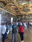 Touring the Doges Palace, Venice