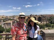 Visiting the Roman Forum
