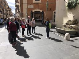 A walking tour of Rome