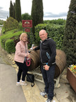 Visiting a great Tuscan winery