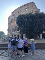 A private tour of the Colosseum, Rome