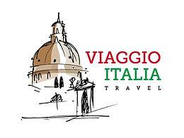 Logo for Viaggio Italia Travel escorted tours of Italy fr seio travellers