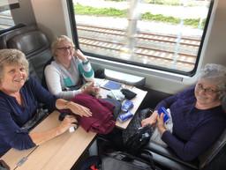 On the Frecciarossa fast train (Business Class!)