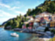 Town on Lake Como on a small group tour of Italy