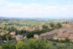 Tuscany countrysideon day 8 of our Best of Italy escorted tour