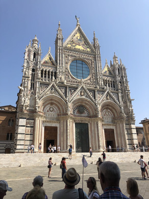 The Duomo in Siena, Italy
