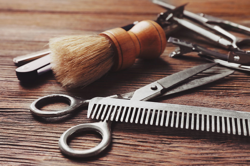 barbering tools for barber tpca