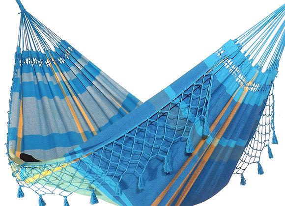 Hamac Sea Breeze bleu turquoise, dimensions extra larges