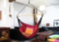 Hamac Fauteuil Convertible avec son kit de suspension, facile à installer