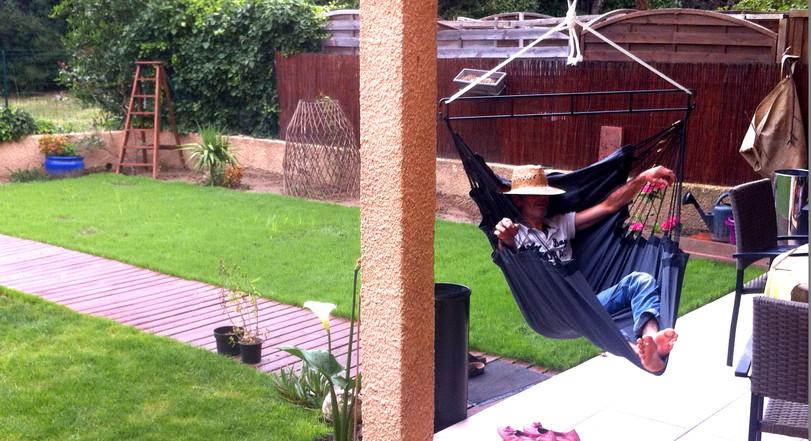 Hamac Fauteuil suspendu à l'extérieur