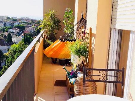 Hamac idéal pour votre balcon