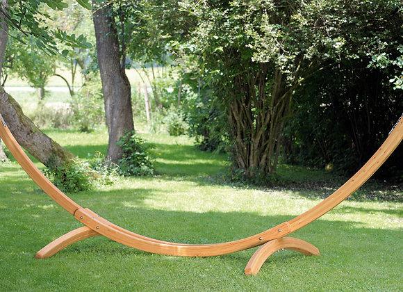 Support ARCUS en bois mélèze pour grands hamacs