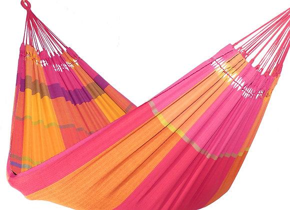 Hamac extra grand tissé main design Celebration couleurs éclatantes