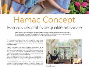 Des Hamacs décoratifs de qualité artisanale se trouvent où?