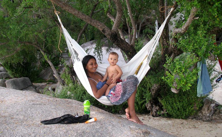 Hamac Fauteuil Convertible pour maman et enfant