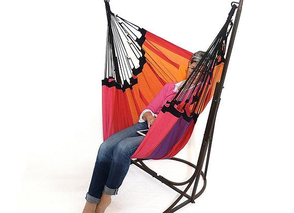 Hamac Fauteuil sur pied décoratif pour l'intérieur et extérieur