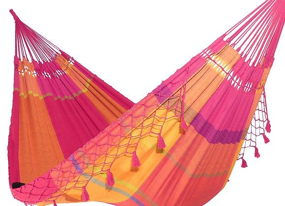 Hamac XL, design Celebration,  avec franges décoratives