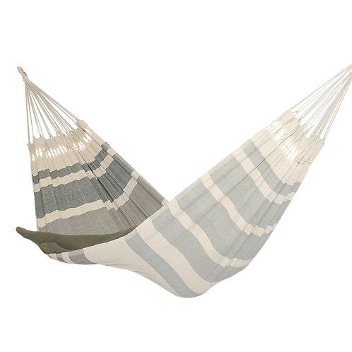 Hamac design moderne gris tissé main en coton
