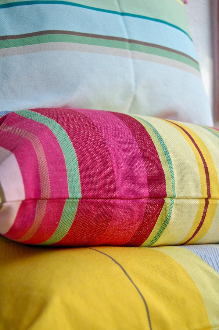 Housses de coussins multidcolore