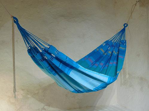 "création de grand hamac bleu ""Ocean"""