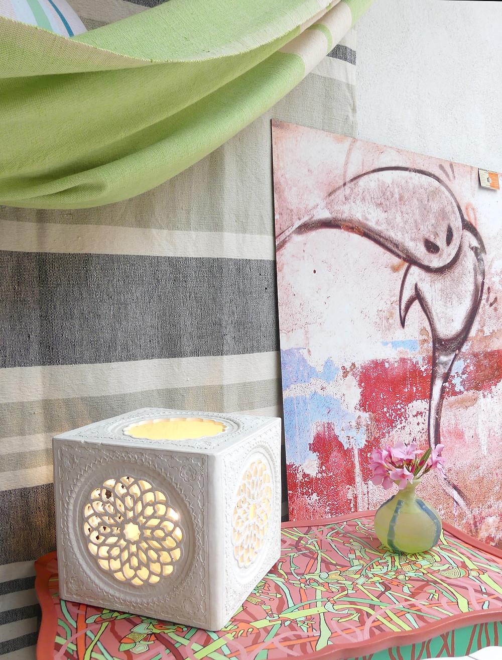 création d'ambiance avec l'art et l'artisanat originaire d'Elne