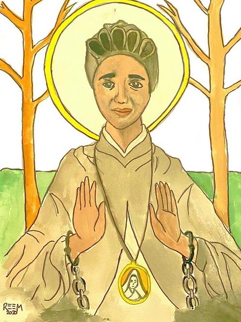 Print - St. Josephine Bakhita