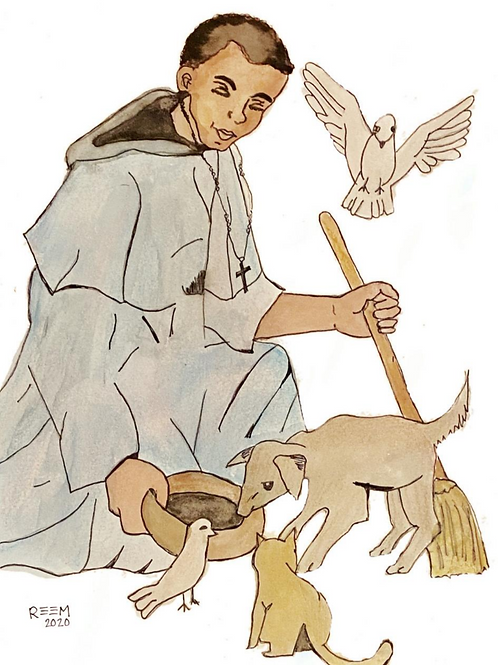 Print - St. Martin de Porres